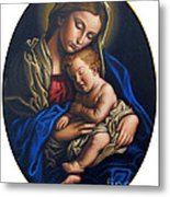 Madonna And Child Metal Print by Jane Whiting Chrzanoska