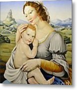 Madonna Of The Fields Metal Print