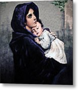 Madonnina Metal Print by A Samuel