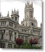 Madrid City Hall Metal Print