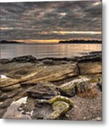 Madrona Point Metal Print