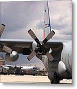 Maffs C-130s At Cheyenne Metal Print