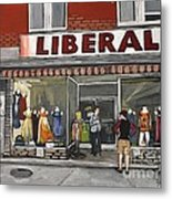 Magasin Liberal Notre Dame  Metal Print by Reb Frost