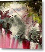 Magenta Cliffs Metal Print by Carole Johnson