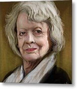 Maggie Smith Metal Print