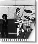 Magic Dick And J. Geils In Oakland 1976 Metal Print