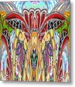 Magic Elephant Metal Print