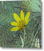 Magic Fern Flower 01 Metal Print