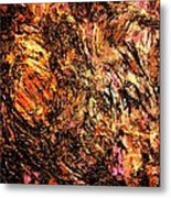 Magic Gold Metal Print