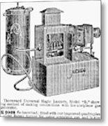 Magic Lantern, 1900 Metal Print