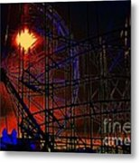 Magic Of The Midway Metal Print