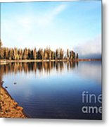 Magic On Seeley Lake Metal Print