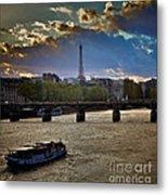 Magic Paris Metal Print