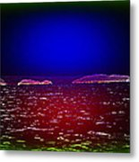 Can You See This Magic Seascape Or Is It Only Me  Metal Print