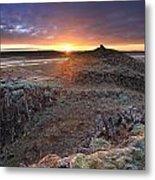 Sunrise South West Iceland Metal Print