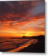 Magic Sunset Metal Print by Victoria Herrera