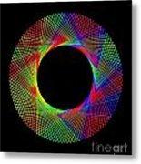Magic Wheel 2 Metal Print
