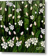 Magical Blooms Of The Deep Forest Metal Print