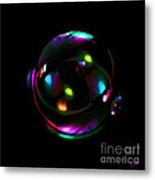 Magical  Bubble Metal Print