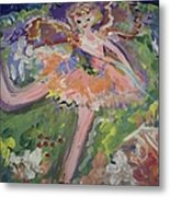 Magical Maggie The Fairy Metal Print