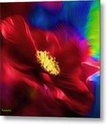 Magical Rose Metal Print