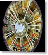 Magical Time Walt Disney World Oval Image Metal Print