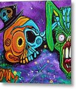 Magician De Los Muertos Metal Print