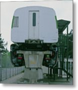 Maglev Train Metal Print