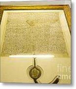 Magna Carta Metal Print