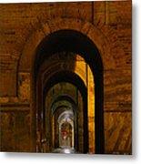 Magnificent Arches Metal Print by Al Bourassa