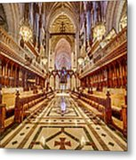 Magnificent Cathedral Iv Metal Print