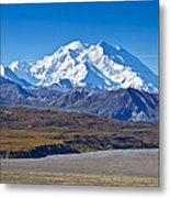 Magnificent Denali Metal Print