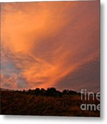 Magnificent Evening Metal Print