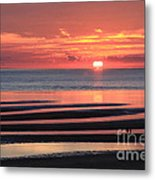 Magnificent Sunset Metal Print