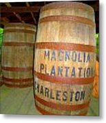 Magnolia Brew 2 Metal Print by Ron Kandt