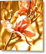 Magnolia Dreams Metal Print