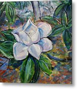 Magnolia's Flower Metal Print