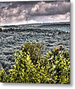Mahanoy Mountain  Metal Print