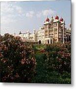 Maharaja's Palace And Garden India Mysore Metal Print