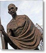 Mahatma Gandhi In Washington Metal Print