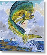 Mahi Hookup Off0020 Metal Print by Carey Chen