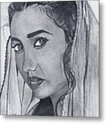 Mahira Khan Metal Print