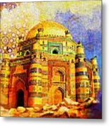 Mai Jwandi Tomb On Makli Hill Metal Print by Catf