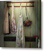 Maid - Always So Much Housework Metal Print by Mike Savad
