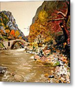 Maidens Bridge - Ura E Vashes Metal Print