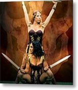 Maidens Of The Killing Fields Metal Print
