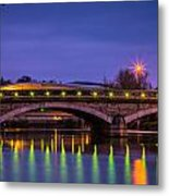 Maidstone Bridge Metal Print