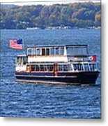 Mail Delivery Boat Lake Geneva Wisconsin Metal Print