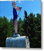 Mail For Uncle Sam Metal Print