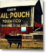 Mail Pouch-4 Metal Print